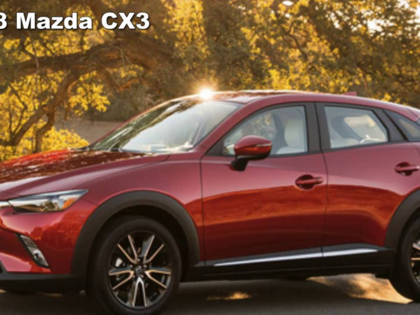 2018 Mazda CX 3 Redesign Preview Changes Concept YouTube
