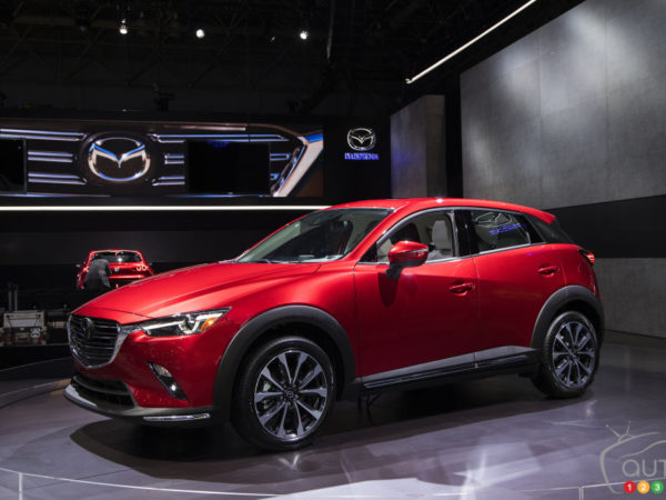 More Horses G Vectoring For The Updated 2019 Mazda CX 3