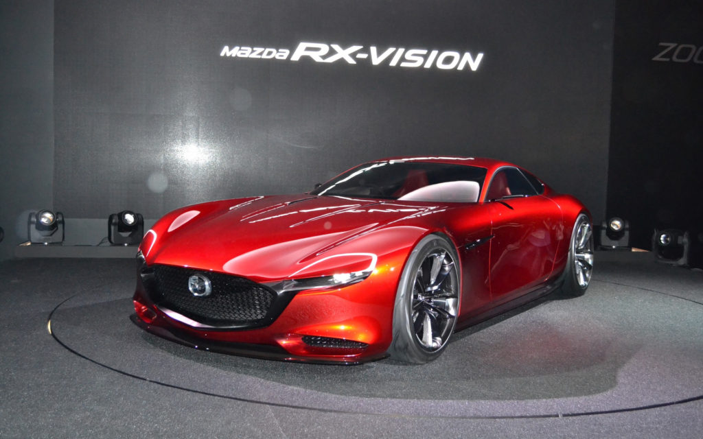 Mazda RX Vision Concept The Rotary Engine Is Back The