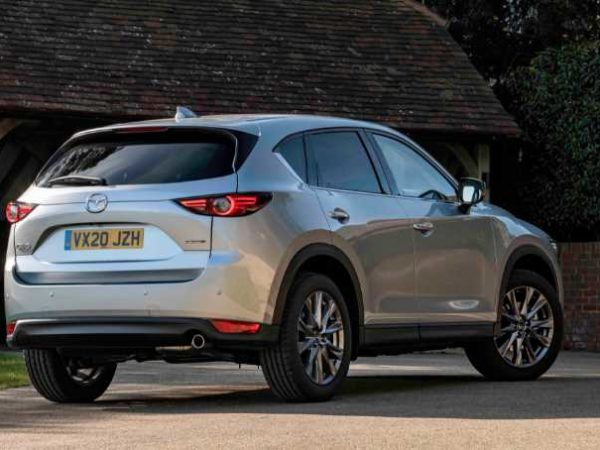 Mazda CX 5 2022 Ground Clearance Exterior
